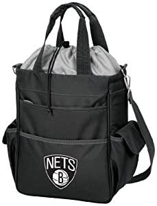 NBA Brooklyn Nets Insulated Activo Cooler Tote by Picnic Time