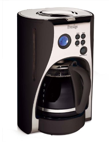 Prestige Deco Digital Coffee Maker,  1.5 Litre, Black from Prestige