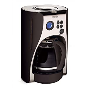 Review Coffee Makers: Prestige Deco Digital Coffee Maker, 1.5 Litre, Black