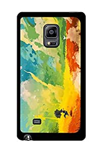 Caseque Rural Art Back Shell Case Cover for Samsung Galaxy Note 4 Edge