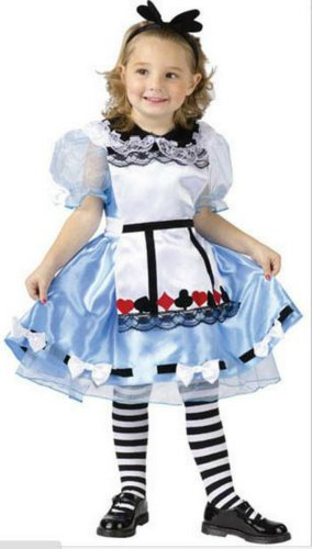 Alice Toddler Costume 3T-4T - Toddler Halloween Costume
