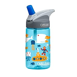 Camelbak Products Kid's Eddy Water Bottle, Sea, 0.4-Liter