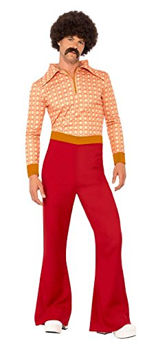 Smiffy's Men's Authentic 70's Guy Costume
