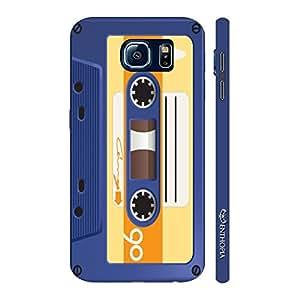 Enthopia Designer Hardshell Case Retro Cassette 5 Back Cover for Samsung Galaxy S7