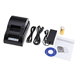 Mini USB 58mm 5890 POS Printer 384 Line Thermal Dot Receipt Printer Set