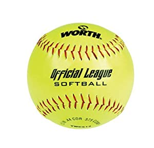 "Rawlings Sporting Goods YWCS12/1DZ/PDQ ""Worth"" Recreation Softball 12"""