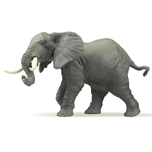 Papo African Elephant Toy Figure - 1