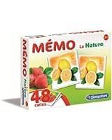 Clementoni - 62478 - Jeu Éducatif et Scientifique - Memo Games - Nature