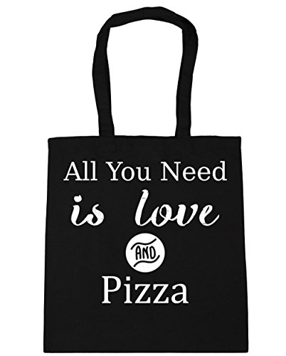 hippowarehouse-all-you-need-is-love-and-pizza-tote-shopping-gym-beach-bag-42cm-x38cm-10-litres
