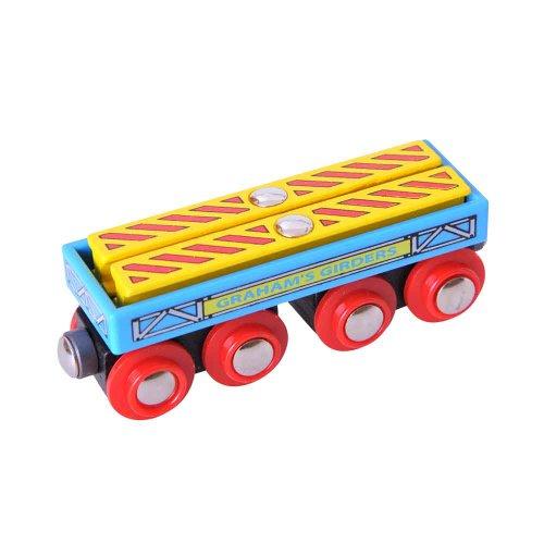 Bigjigs Rail BJT409 Graham's Girders Wagon