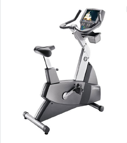 Life Fitness 95Ce Remanufactured Upright Bike with Integrated LCD TV