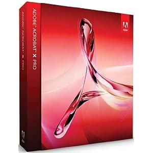 【クリックで詳細表示】Adobe Acrobat X Pro Windows版 (Acrobat 11への無償アップグレード対象 2012/12/30まで)