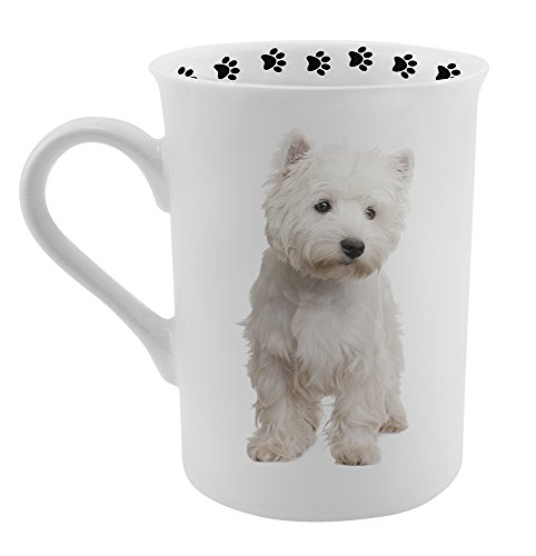 Dimension 9 Westie Coffee Mug, White