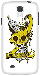 The Racoon Grip Bullet Proof hard plastic printed back case/cover for Samsung Galaxy S4