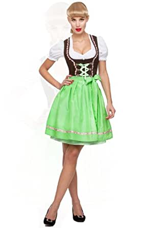 stockerpoint minidirndl 3tlg judy apfel karo 50 cm wiesn dirndl gr e 36 clothing. Black Bedroom Furniture Sets. Home Design Ideas