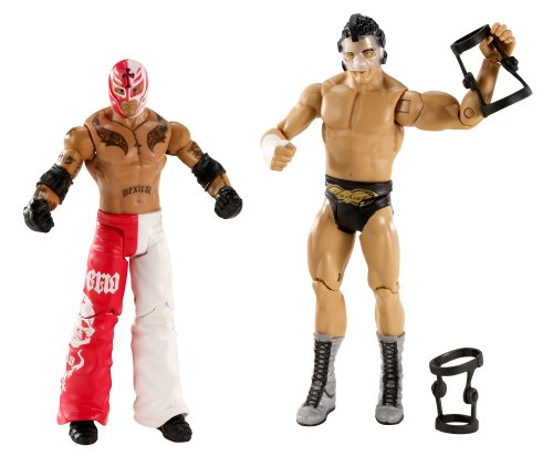 Imagen de Battle Pack WWE: Rey Mysterio vs Cody Rhodes Figura 2-pack de la serie 13