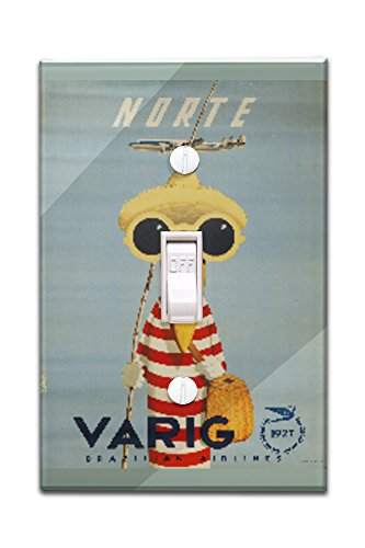 brazil-varig-norte-artist-petit-vintage-advertisement-light-switchplate-cover