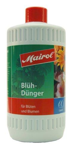 Mairol 4100 Blühdünger für Blüten und Blumen, Liquid, 1 Liter