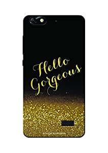 Sowing Happiness Printed Back Cover for Huawei Honor 4C