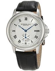 Stuhrling Prestige Men's 357.33152 Swiss-Made Laurel Automatic Date Silvertone Watch