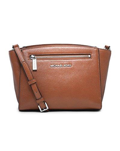 Michael Kors Medium Sophie Messenger Bag In Cedar front-617548