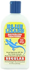 Blue Lizard Australian Sunscreen Regular SPF 30 8.75-Ounce Bottle