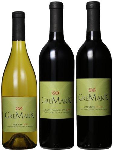 Gremark Vineyards Paso Robles Variety Mixed Pack, 3 X 750 Ml