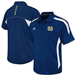 Notre Dame Irish Climalite Polo by Adidas by GametimeUSA