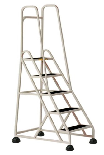 Stop Step 5 Step Ladder with Double Handrail