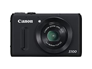 Canon PowerShot S100 12.1MP Digital Camera with 3-Inch TFT LCD by Canon