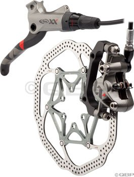 Buy Low Price Avid XX Rear Disc Brake with Right Lever (160mm HSX Rotor, 1600mm Hose)- Silver (00.5016.171.020)