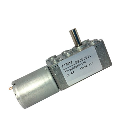 Best Offer TSINY 6v Worm Gearbox Small DC Motor Variable