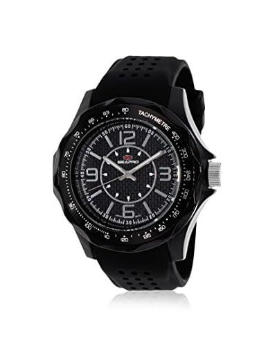 Seapro Men's SP4110 Dynamic Analog Display Quartz Black Watch