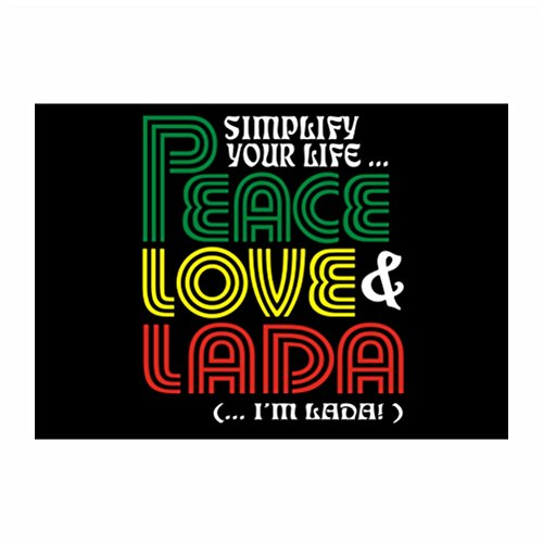 teeburon-simplify-your-life-peace-love-lada-im-lada-packung-mit-4-aufkleber