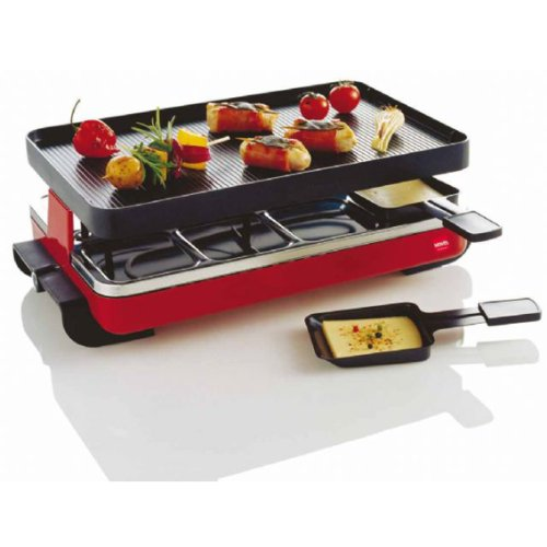 Novis 6011.02 8-er Raclette Classic, rot