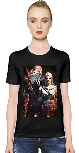 The Witcher 3 Wild Hunt Couple T-shirt donna X-Large