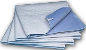 Sahara Extra-Absorbent Washable Underpad, White, 34x36 in., Each