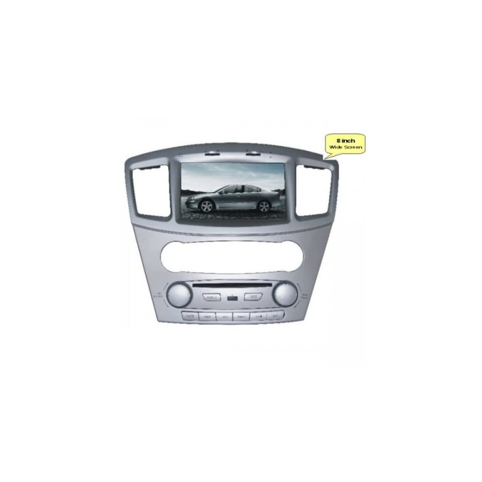 Pioeneer Intelligent (2008 2011) Mitsubishi Galant 6 8 Inch Touchscreen Double DIN Car DVD Player & In Dash Navigation System,Navigator,Build In Bluetooth,Radio with RDS,Analog TV, AUX&USB, iPhone/iPod Controls,steering wheel control, rear view camera inpu