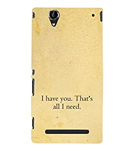 ifasho Designer Phone Back Case Cover Sony Xperia T2 Ultra :: Sony Xperia T2 Ultra Dual SIM D5322 :: Sony Xperia T2 Ultra XM50h ( I am A Chartered Accountant Ca )