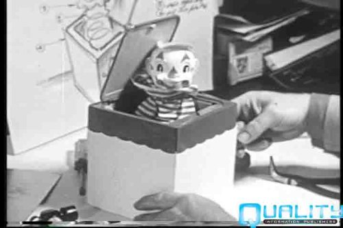 Vintage Making Of The Jack In The Box Toy Video Dvd: 1950S Mattel Toy Company Traditional Children'S Play Toy: The Jack-In-The Box History Pictures Films front-327244