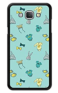 """Humor Gang Cute Baby Stuff - Green Printed Designer Mobile Back Cover For """"Samsung Galaxy A8"""" (3D, Glossy, Premium Quality Snap On Case)"""