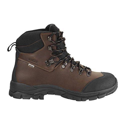 AIGLE LaForse Hiking Boots full grain leather waterproof - UK Size 11 (EU 46)