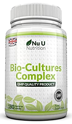 Probiotics 180 Capsules (6 month supply) by Nu U Nutrition