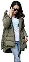 Orolay Womens Thickened Down Jacket