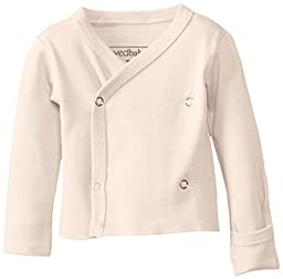 L\'ovedbaby Unisex-Baby Newborn (up to 7 lbs.) Organic Wrap Shirt, Beige, Newborn (up to 7 lbs.)