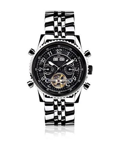 Hindenberg Reloj  Plateado 42 mm