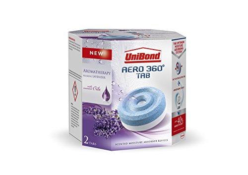 UniBond Aero 360 Lavender Refill, 450 g - Pack of 2
