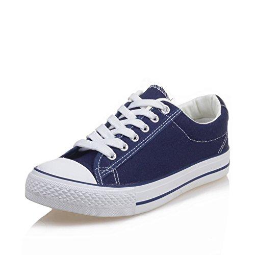 Chaussures en toile plat blanc classique/Département de chaussures basses femmes coréennes/Étudiants en bottes noires/Souliers pour dames de Joker respirant