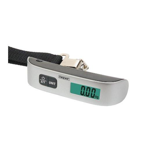 Beper , Bilancia pesa valigie  Unisex Plateado 21 cm