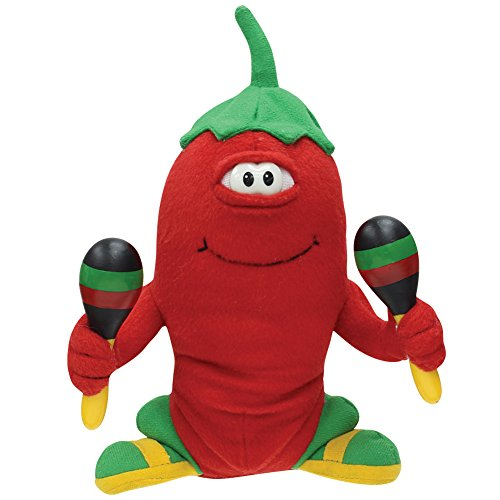 Musical animated chili pepper junior plush toy dances sings quot hot hot